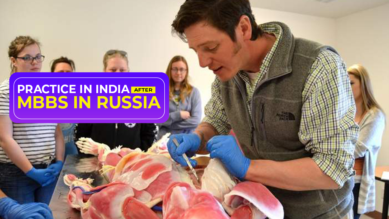 Practice in India after MBBS in Russia